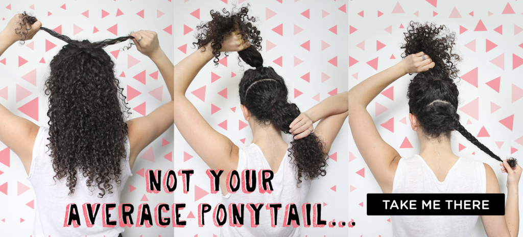 Curly Hairstyles_Ponytails_DevaCurl Blog
