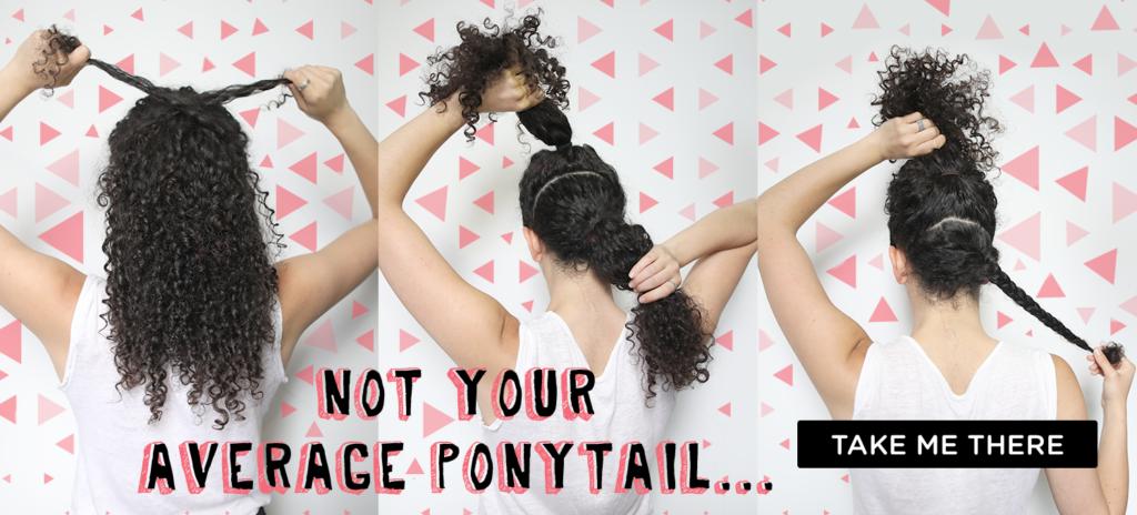 Curly Hairstyles_Ponytails_DevaCurl Blog