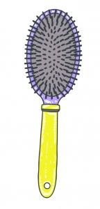 Curly Blowout - Hair Brush