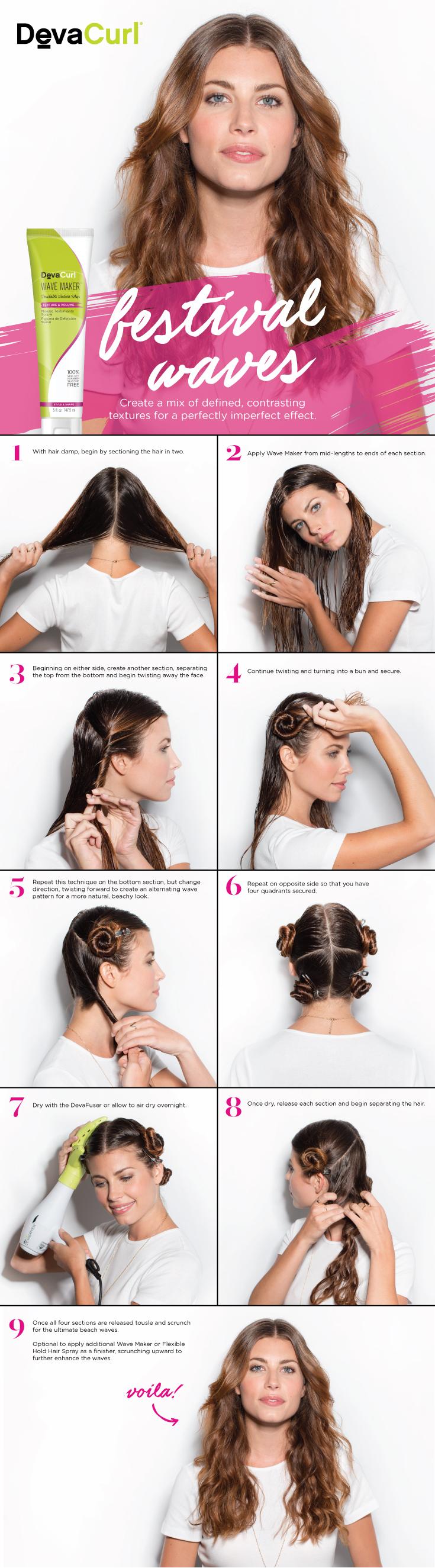 How To Get Wavy Hair Devacurl Blog