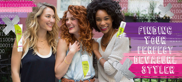 Styling Curly Hair Finding The Best Devacurl Styling Products For