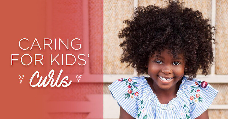Tips for Caring for Curly Kids from Expert Devachan Stylists