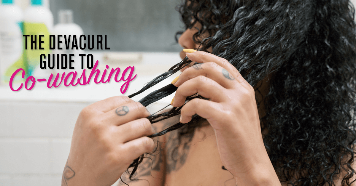 What Is Co Washing Curly Hair Devacurl